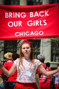 # Bring Back Our Girls - CHICAGO May 10, 2014-37